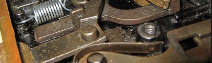 Профилактика механизма замка