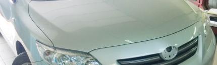 Вскрытие замка капота автомобиля
