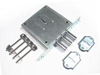 Накладной и врезной замок «Цербер» С1-М с 2-х сторон ключ с установкой
