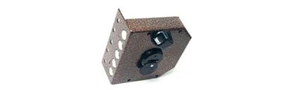 Врезной и накладной замок «Эльбор Гранит» 1.06.61.5.1.1 сувальдный с поворотной ручкой с установкой