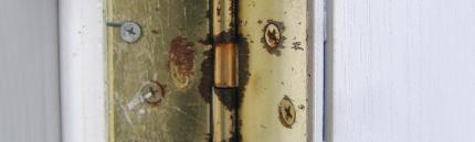 Смазка дверных петель