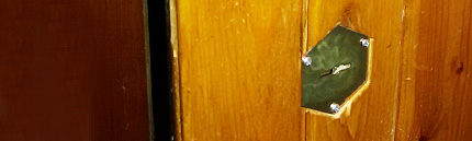 Вскрытие замка входной двери