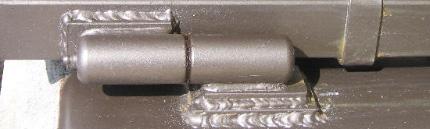 Сварка петель металлических дверей (ремонт, замена, установка)