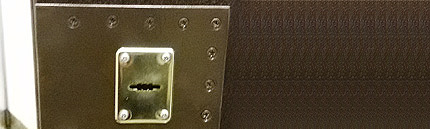 Установка пластины на металлическую дверь