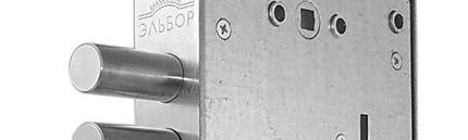 Установка замков Эльбор на металлическую дверь