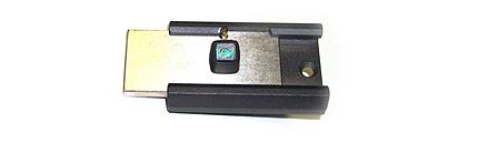 Накладной замок Барьер-4 М цилиндровый (длинный ключ 108 мм) с установкой