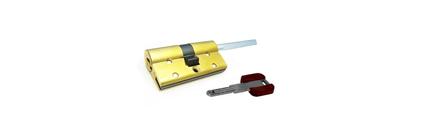 Цилиндр врезного замка Cisa RSЗ ОВ317-12 40*30 длинный шток с установкой