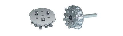 Цилиндр (ротор) к врезным сувальдным-цилиндровым замкам Guardian 21.14 и 25.14 (левые) с установкой
