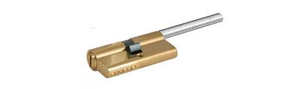 Цилиндр врезного замка KALE 164 SMС 55*31 никель длинный шток с установкой