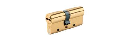 Цилиндр врезного замка KALE 35×10х35 (80 ZN) с установкой