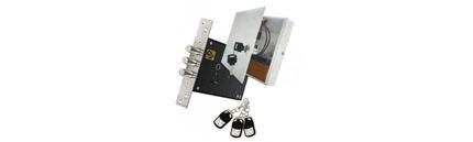 Врезной замок Меттэм ЗВ ЭМ 01.01. р/у цилиндровый электромеханический радиоуправляемый с установкой
