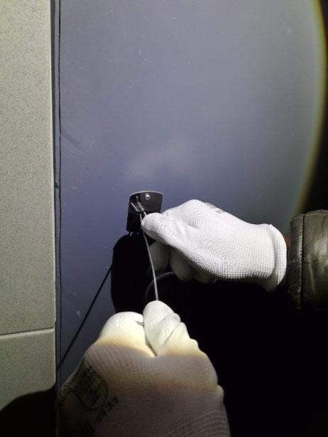 Вскрытие замка с застрявшим ключом